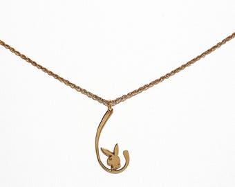 Vintage Playboy Bunny Necklace