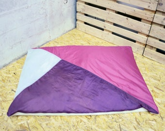 Pink, purple and white Cumulus (150x115cm)