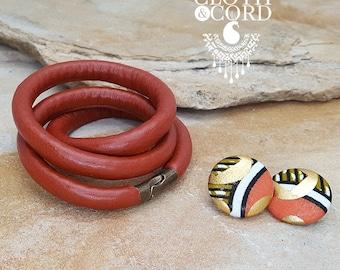 Vegan Leather Necklace/Bracelet