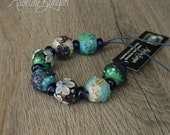 Round Flower Beads, Mixed...