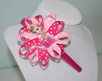 Pink Frozen Elsa Headband