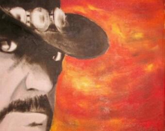 Lemmy Kilmister of Motorhead print from original Oil Painting