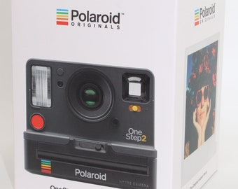 Polaroid OneStep 2 Instant Camera in Graphite - Unopened in box - Uses 600 or i-Type Films - While stocks last!!!