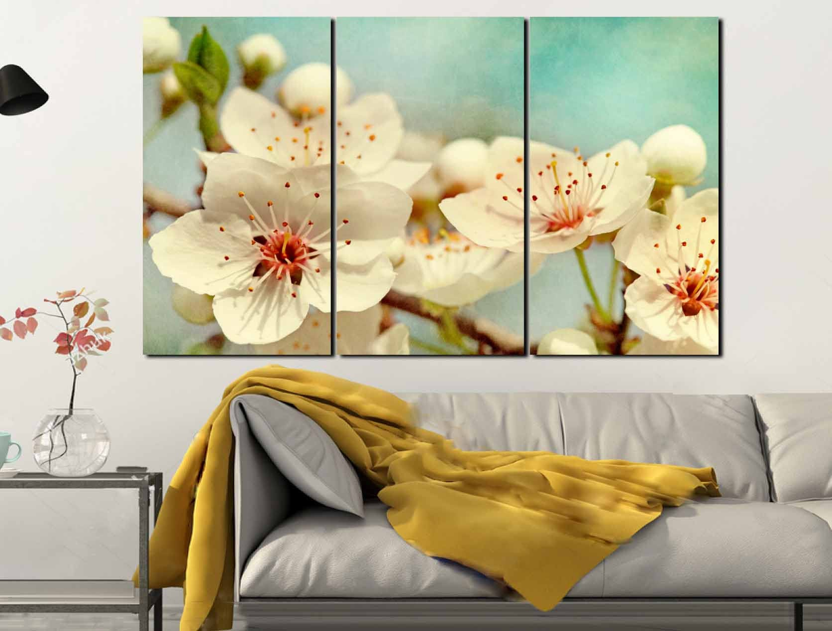 Fantastic Japanese Cherry Blossom Wall Art Pattern - Art & Wall ...