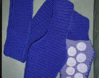 Crochet Tentacle Scarf with Pockets