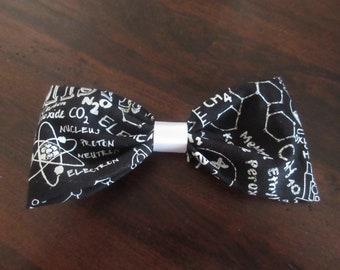 Chemistry Hair Bows, Chemistry Bows, Science Bows, Science Hair Accessories, Chemistry Hair Accessories, Molecular, Geeky, Nerdy