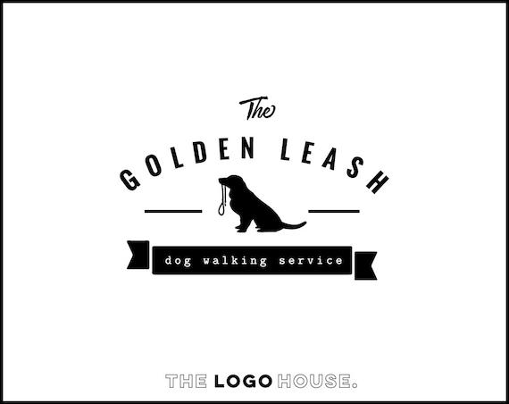 Super Dog Logo Design Pet Accesories Logo Dog Walking Business SZ42