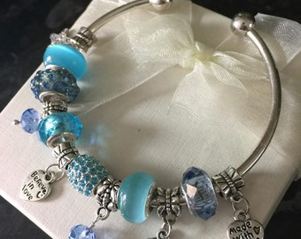 Believe In Love Blue Sea Bangle