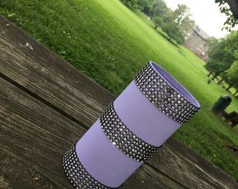Purple Crystal Vase
