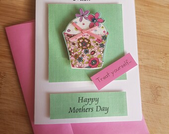 Mothers Day Card (handmade)