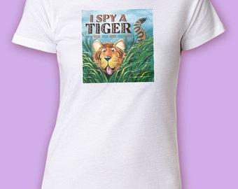 Women's I Spy a Tiger Tee