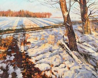 An Evening in Winter
