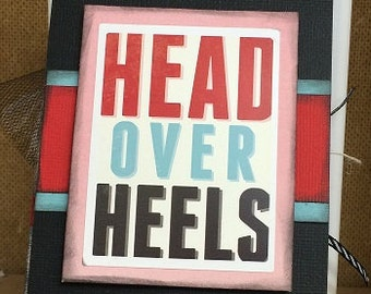 HEAD OVER HEELS Mini Album, Love mini album, valentines mini album