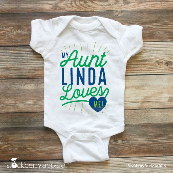 My auntie loves me shirt my aunt loves me custom baby bodysuit my auntie loves me shirt my aunt loves me custom baby bodysuit personalized baby gift boy baby shower gift girl baby clothes name negle Image collections