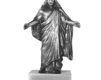 """Jesus Christ Savior Mini Figurine 2"""" C42 Christus"""