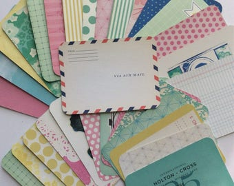 Project Life Destash-30 3x4 Assorted Cards-Maggie Holmes Edition