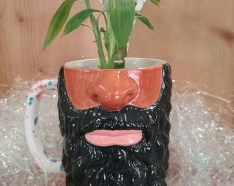 Manly Beard Mug Stein