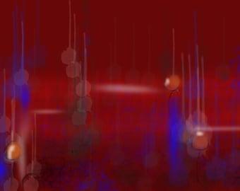 Abstract Art mystical lights