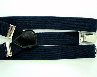 Navy Suspender  for Baby, Toddler and Boys