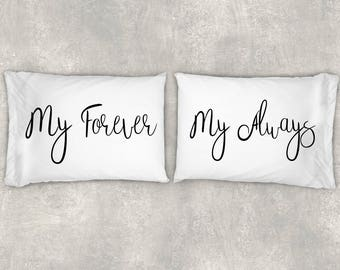 Couples Pillow - Couples Pillow Cases - Pillows With Sayings - Pillowcase - Pillow Covers - Pillow Cases - Pillow - Engagement Gift - Gift