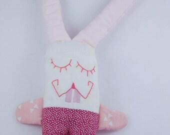Shades of pink rabbit