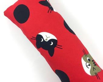 Kitty Heads Kick-It Organic Crinkle Catnip Cat Toy For Mew, Kicker, Gift For Cat Lover, Kicker