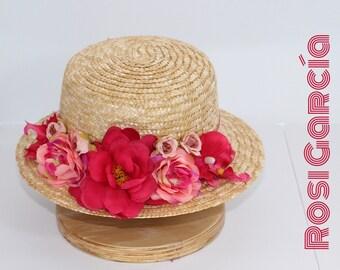 Canotier Flores