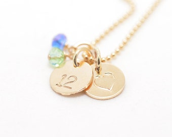 Seahawks Charm Necklace | Stamped Necklace | 12th Man Necklace | Gold Seahawks Charm| Personalized Jewelry | Custom Jewelry