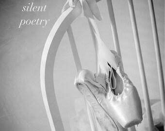Dance gifts, Gift for dancer, Dance quote, Pointe shoes, Ballet art, dance, Ballet decor, Girls room decor, Ballerina // Ballet Pointe shoes