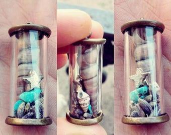 -Terrarium terrarium pendant pendant-Remembering the sea