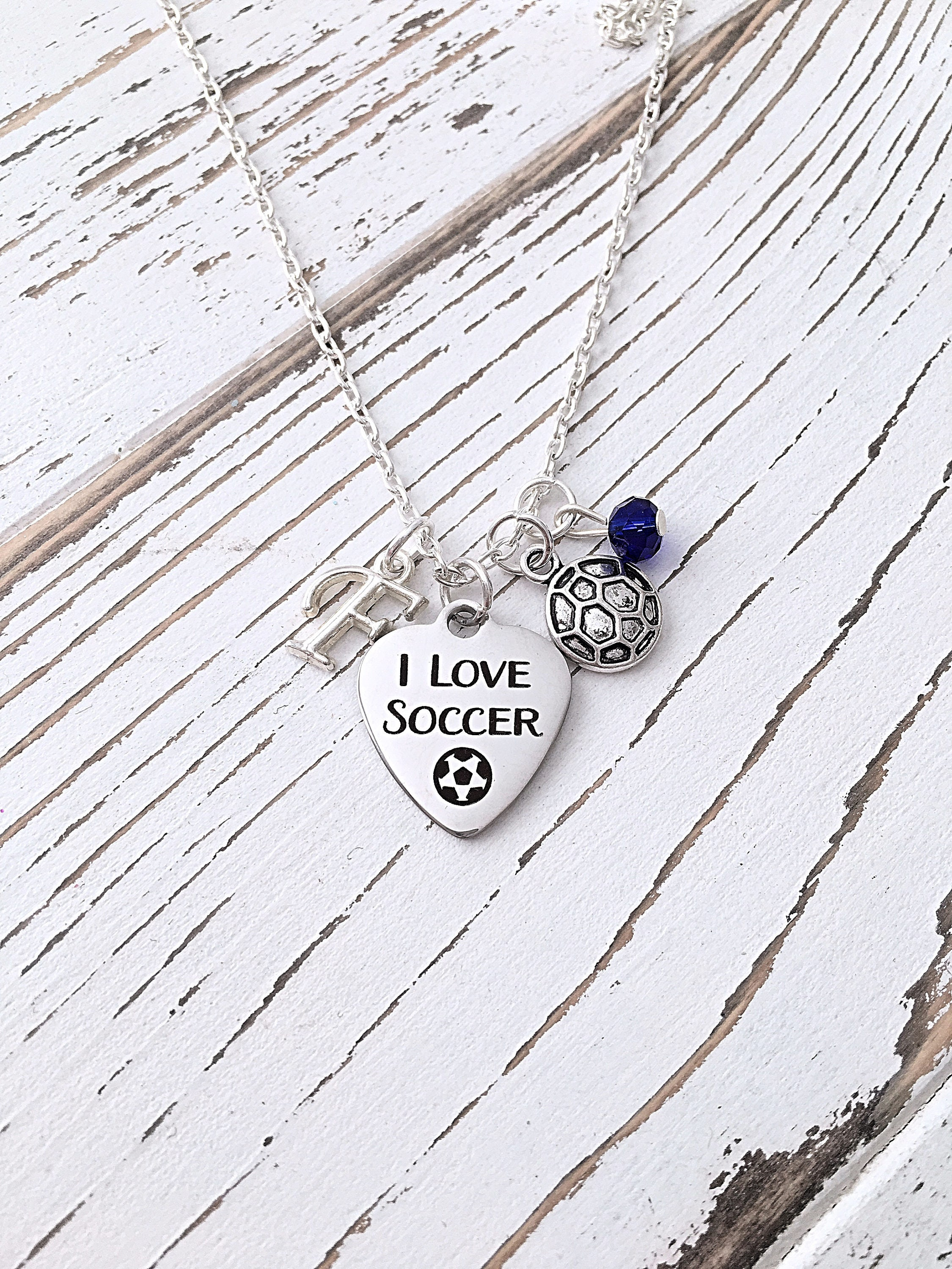 steel silver zestto stainless necklace product pendant soccer football
