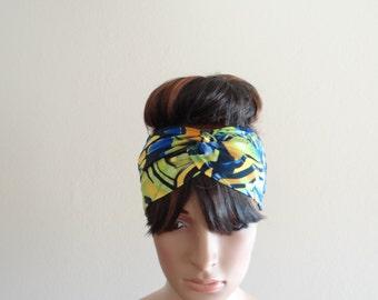 Headband. Printed Head Wrap