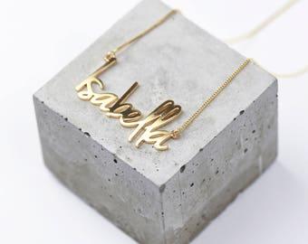 Monogram name necklaces etsy uk gold name necklace personalised aloadofball Gallery