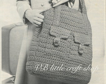 Bag crochet pattern. Amazing! Easy! Practical! Instant PDF download!