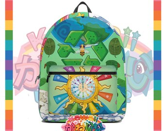 Kawaii Universe - Cute World Peace Showers Designer Travel Bag / Backpack