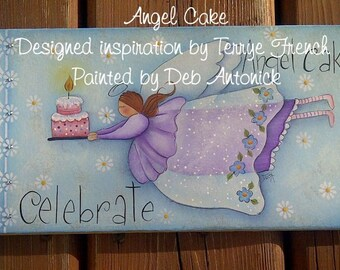 Angel Cake by Deb Antonick,  Painting With Friends E Pattern