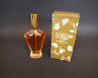 Vintage Luzier Cologne, Luzier Fragrance, Luzier Perfume, Womens Fragrance, New Old Stock in Box, Bath and Beauty, Luzier Cosmetics