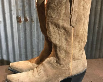 Perfect Vintage 'Dan Post' Cowboy Cowgirl Boots