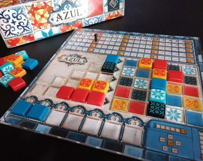 Azul player board overlays