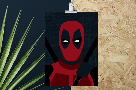 Deadpool Poster Print Wall Art Gift Prints