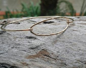 Hammered Bangle, Bracelet, Sterling Silver, or 16K, Gold Fill, Stacking Bangle, Gold Bangle, Silver Bangle, simple bracelet, dainty bracelet