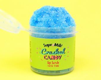 Crushed Candy Lip Scrub / Sugar Scrub / Lip Balm / Vegan Lip