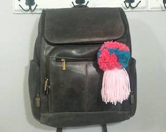 Pom Pom Tassel Bag Clip