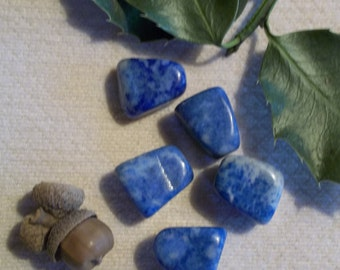 Sodalite Stone- Two Polished Stones