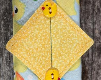 Kleenex Cover, Travel Tissue Holder, Pocket Tissue Cover, Ducks