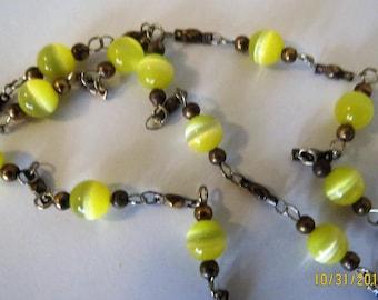 Nunn design beaded chain, beaded chain 38 inches long