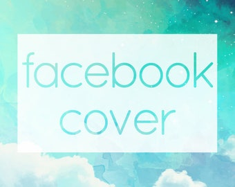 Facebook Page / Group Cover Photo ADD-ON - Customized Header Banner to Match Your Etsy Shop or Small Business Logo Design