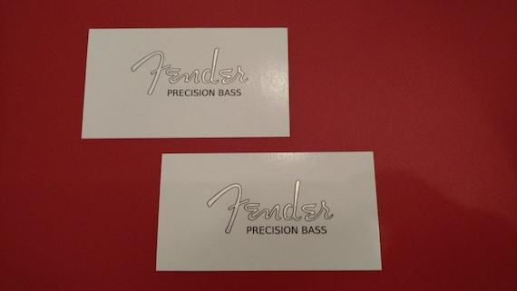 Fender Custom P-BASS in Metallic Silver