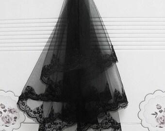Black veil - veil blackveil gothic victoriangoth victorian vampire vampiregoth