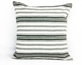 Off white/ Cream/ Black | Pillow cover